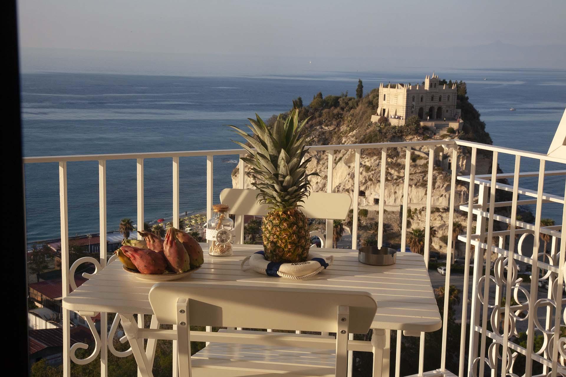 La Pinta balcone a picco sul mare